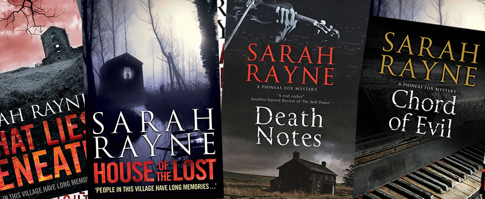 Books by Sarah Rayne